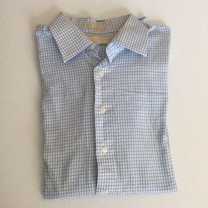 Michael Kors Button Down Long-Sleeves Shirts Mens